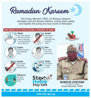 FRSC Ramadan Kareem Message