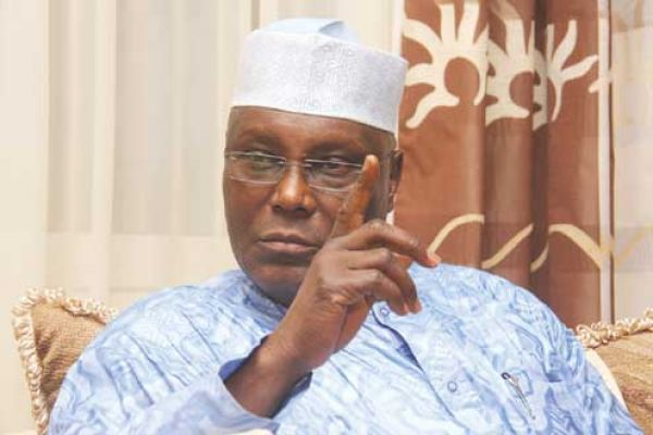 Atiku cautions Buhari over alleged plot to sack Onnoghen