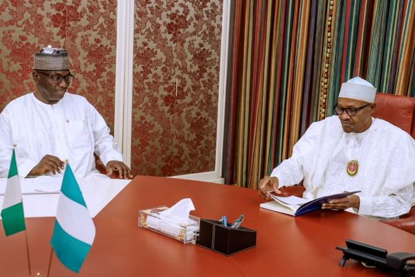 AbdulRazaq Meets Buhari, Seeks Support For Kwara Devt