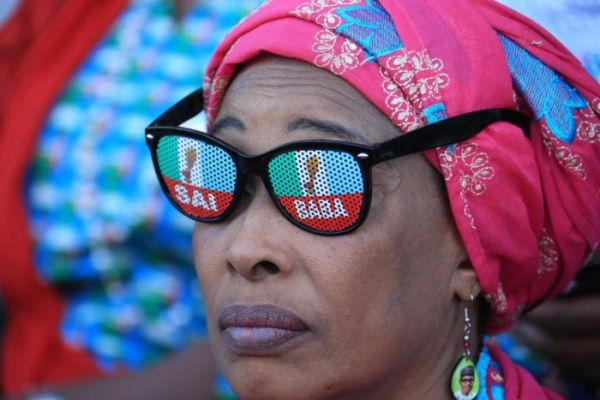 Buhari's campaign kicked-off in Kano with fashion statement