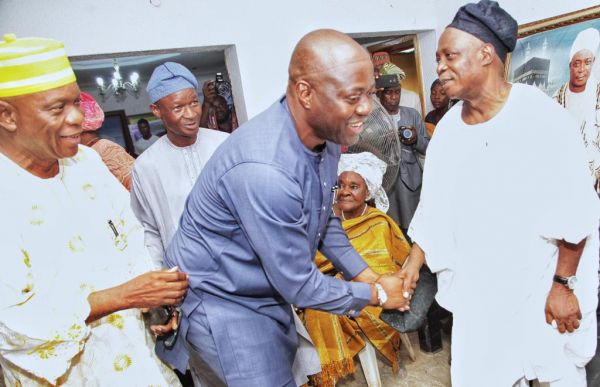 Seyi Makinde eulogises Ladoja At 75 •	Says He's Great, Visionary Leader