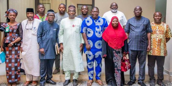 PHOTO NEWS: When Historical Society of Nigeria(HSN) Visits Governor AbdulRazaq