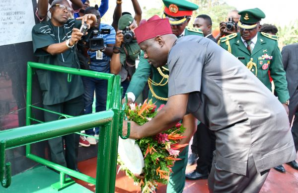 Photo News: Oyo State Armed Forces Remembrance Day